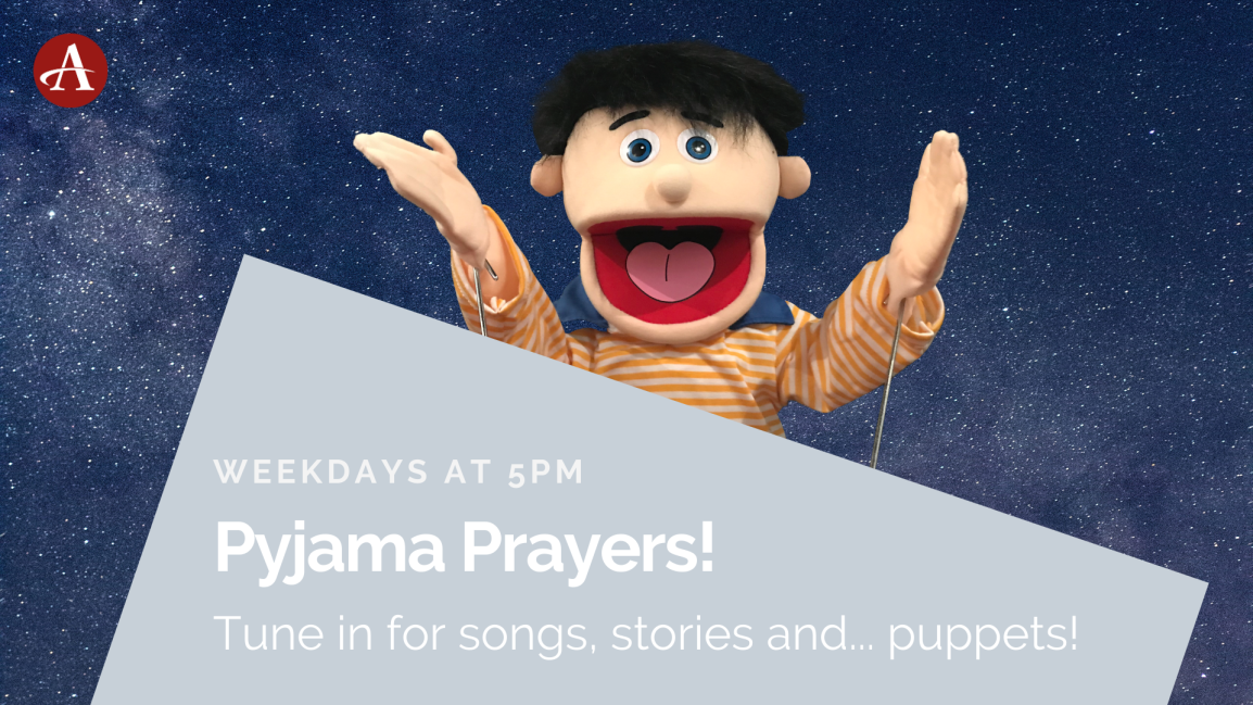 Pyjama Prayers – Jesus-centred fun from the comfort of home